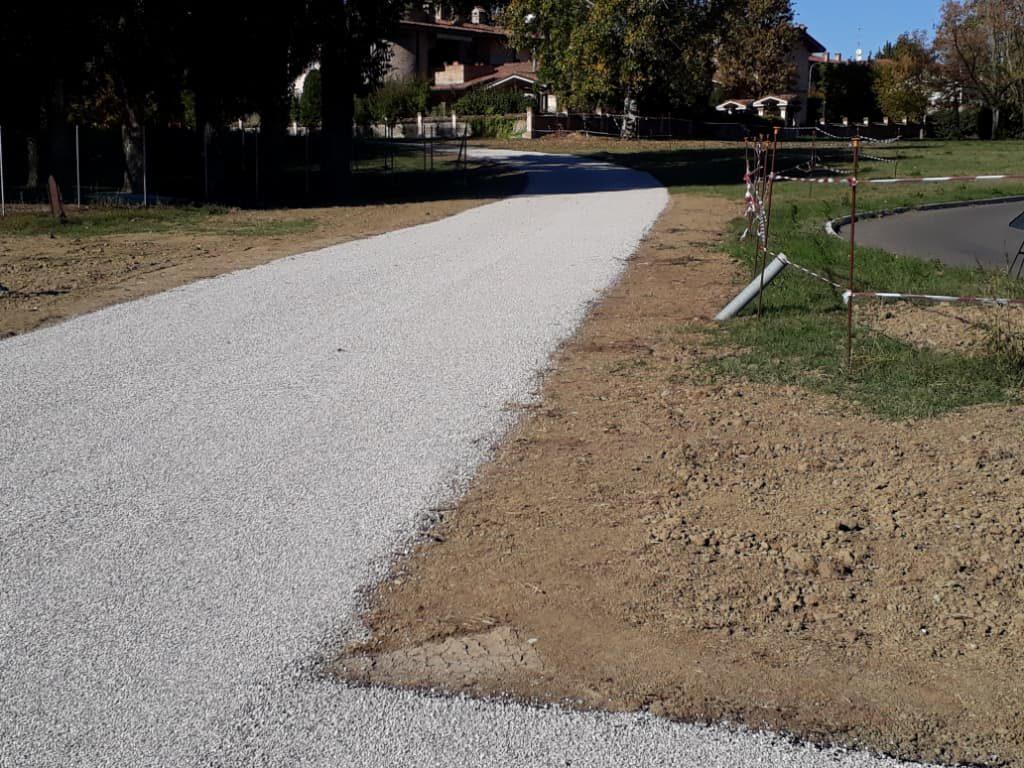 Pavimentazione ecologica Triplo Strato